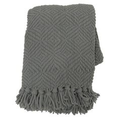 Throw Chenille - Grey : Target  $35
