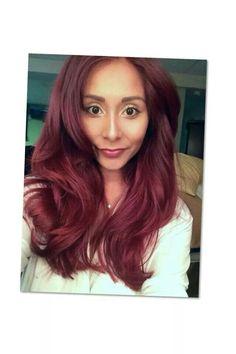 Burgundy Hair Color Oops On  Dark Brown Hairs