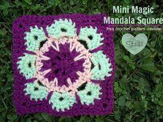 Mini Mandala Magic Square – Free Crochet Pattern – Review