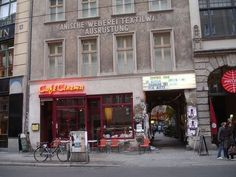One could say there are two cafes/bars, two shops, a gallery, a cinema, a museum…But that wouldn't be enough to describe the importance of Haus Schwarzenberg. For getting a proper feeling of the cultural Berlin you have to go there.  Rosenthaler Strasse 39 | Mitte