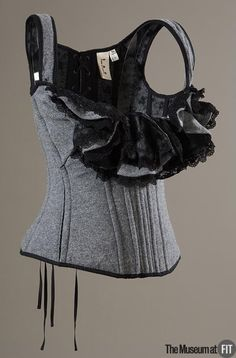 Tao for Comme des Garçons corset, Fall 2005. Collection of The Museum at FIT. #lingeriehistory