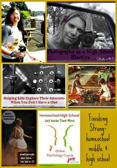 Finishing Strong ~ Homeschooling the Middle & High School Years #26  This week we are focusing our attention on electives - helping our students discover their passions through electives. @Education Possible
