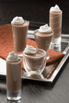 Hot Peppermint Mocha Shots and other fun drinks using Coffee-Mate creamer