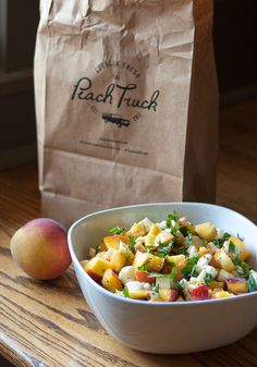 Peach Caprese Salad