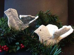 This Papier Mache Christmas Dove is a beautiful embellishment for the tree. Make paper crafts for Christmas with this fabulous Christmas ornament craft.