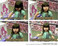 her parents deserve a medal...