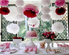 Cute party for a girl