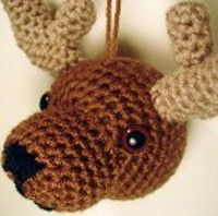 Rory the Reindeer makes for an adorable Christmas ornament for the tree or just a wall hanging. Reindeer are some of the most memorable Christmas characters of the season, making this crochet Christmas ornament pattern a must for any crocheters.