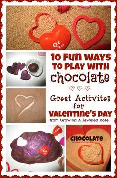Chocolate Activities for Kids