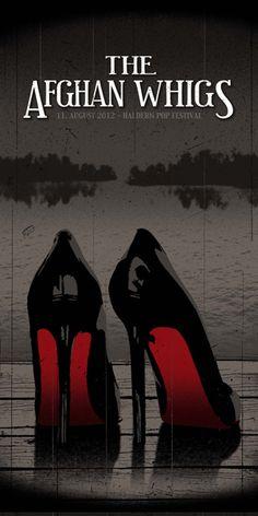 Afghan Whigs Haldern Pop 2012 Poster