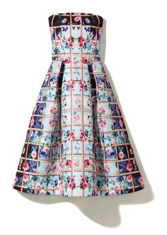 The Floral Gift Guide - Mary Katrantzou dress, $5,210, Neiman Marcus, 888.888.4757.