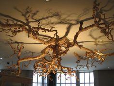 Wood Chandelier Piece On Pinterest