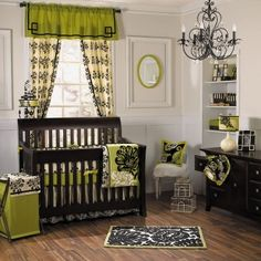 Almost got this for my baby girls room. I love nurseries that aren't so babyish.