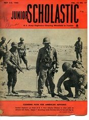Another May 1943 edition of Junior Scholastic.