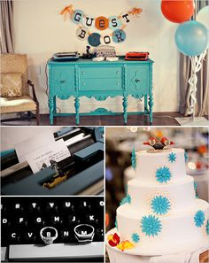 Please check out these awesome turquoise wedding ideas. And use code Pin60 for 10% off wedding items at www.CreativeWeddingStyle.com