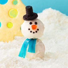 12 Kid-Friendly Christmas Cookies: Snowman Cookies (via Parents.com)