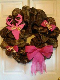 Camo wreath!