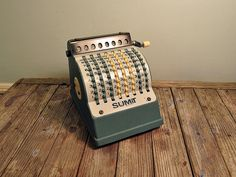 vintage office machines | Vintage Office Adding Machine | Flickr - Photo Sharing!