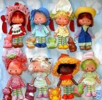 Strawberry Shortcake family.  I saved mine and someday Hannah will get to play with them.