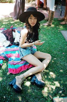 Jennifer Im (Clothes Encounters) hats, outfits, style, cloth encount, jenn, youtube, fashion inspir