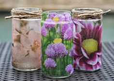 bliss bloom {blog} ~ a craft and lifestyle journal: Upcycle // Cool Jars Series - Part II