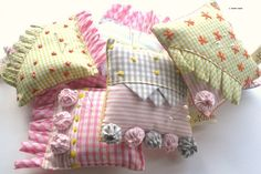 Called Grandmother's best Sunday pin pillows.