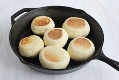How to make english muffins at home (I made english muffins at home 40 years ago while living in Africa)