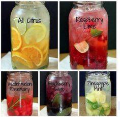 DIY flavored waters