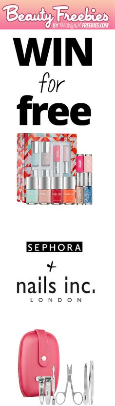 NEW GIVEAWAY! #Win a Limited-Edition Festival #Nail Polish Set & Mini Mani Kit from #Sephora! VALID UNTIL JUNE 24