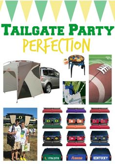 Tailgate party! Football Party!