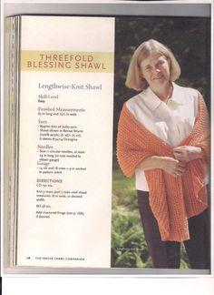 3. ThreeFold Blessing Shawl was a wonderful shawl to make this summer!