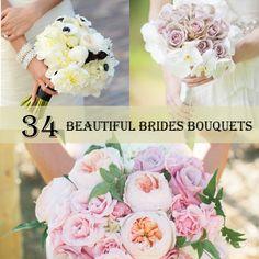 34 Beautiful Brides Bouquets http://weddingideasbyyou.com/2014/03/20/34-beautiful-brides-bouquets/ Follow Us on Pinterest --> http://www.pinterest.com/weddingideasbyu/