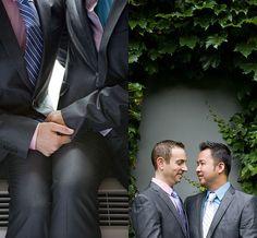 Gay wedding.