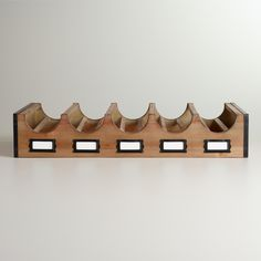 library wine rack