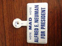 Mad campaign button