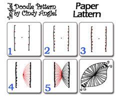 paper lantern tangle!