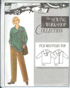 Fuji Mountain Top (Sewing Workshop)
