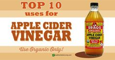 Apple cider vinegar is my favorite go to product for just about all my medicinal and general household needs. See the many benefits of apple cider vinegar.