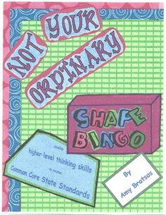 Geometric Shape Bingo with a Critical Thinking Twist