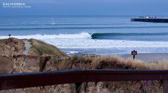 mid town Santa Cruz, east of pier, tubing surf