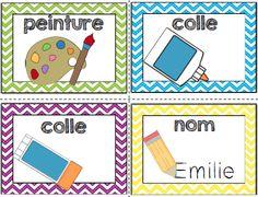 Voici un outil indispensable pour aider vos jeunes élèves à suivre les consignes d'un travail. Lorsque vous expliquez votre consigne, vous ajouter l'affiche correspondante dans l'ordre souhaité.  Ce document contient:  - 12 affiches des consignes illustrées (coupe, colorie, écris, nom, colle (liquide), colle (baton), surligne, souligne, dessine, peinture, lis et compte).  - 8 affiches des nombres (pour l'ordre)