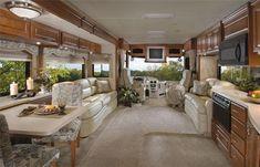 Luxury Motorhomes | 2007 Mandalay Valencia Class A Motorhome - a luxury rv | Travel ...