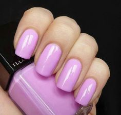Want this orchid color nail polish, pink nails, nail colors, summer nails, nail arts, purple nails, light shades, color nails, long nails