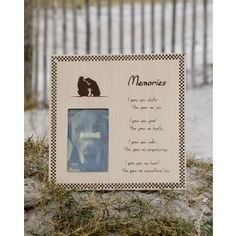 """This heartfelt keepsake describes all the gifts a loving pet gives us: joy, loyalty, companionship and unconditional love.  Verse says: """"I gave you shelter you gave me joy. I gave you food you gave me loyalty. I gave you walks you gave me companionship. I gave you my heart you gave me unconditional love.""""    $14.99 pet project, memori, pet loss, pet photos, bereav gift"""