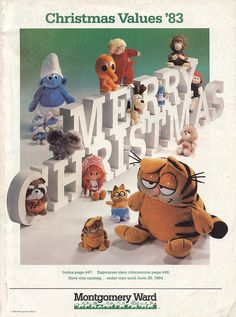Montgomery Ward Christmas Catalog, 1983