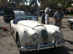 An Amazing Gathering Of Vintage British Cars In Downtown Boca Raton (Business Insider)