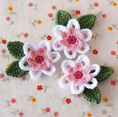 Плетива, хоби, декорация: Цветя
