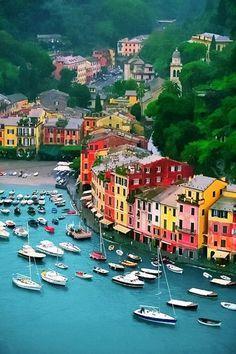 Portofino Located on