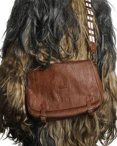 ThinkGeek :: Star Wars Chewbacca Messenger Bag $74.99