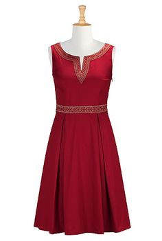 Possibly good for a Christmas party dress!